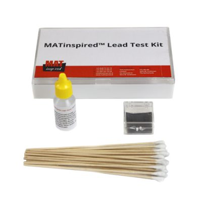 Testkit to detect lead in paint, metals and other materials
