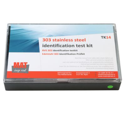 Stainless steel 303 test kit