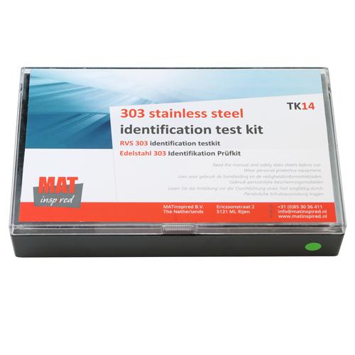 Stainless steel 303 test kit