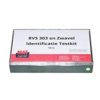 RVS 303 en Zwavel Identificatie Testkit voor het identificeren van zwavel in metalen