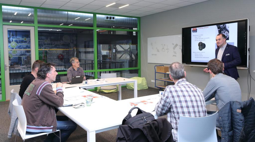 Theoriegedeelte van de workshops